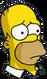 Homer Triste Icon