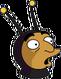 Homme abeille Surpris