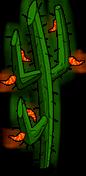 Cactus à piments de l'enfer