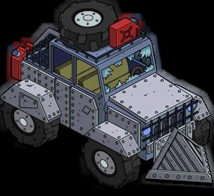 Jeep de l'apocalypse d'Apu