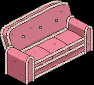 Canapé en pain d'épices des Simpson (quête)
