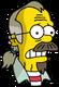 Nedward Flanders Sr. Effrayé