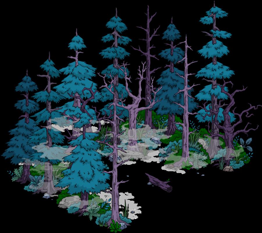 Forêt maudite de Springfield