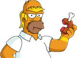 Barbare Homer