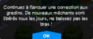 Flanquer une correction