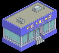 Magasin vidéo VHS Village