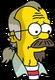Nedward Flanders Sr. Triste
