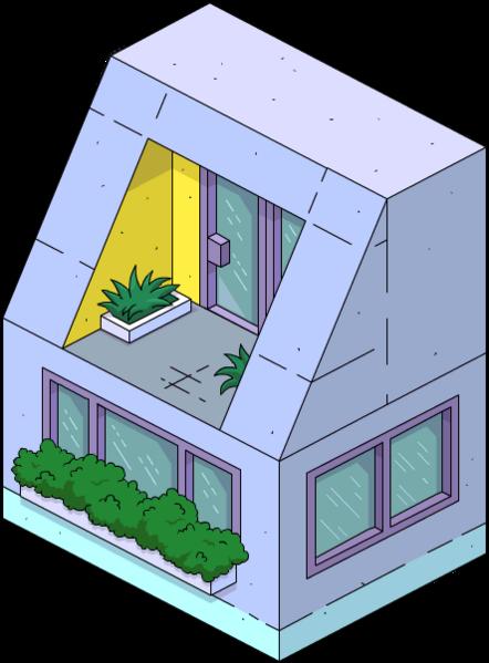 Bâtiment latéral moderne 1