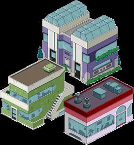 Bâtiments Zenith City 2