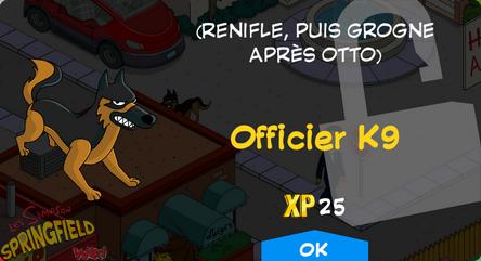 Officier K9
