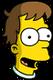 Homer bébé Content