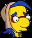 Lady Milhouse Triste