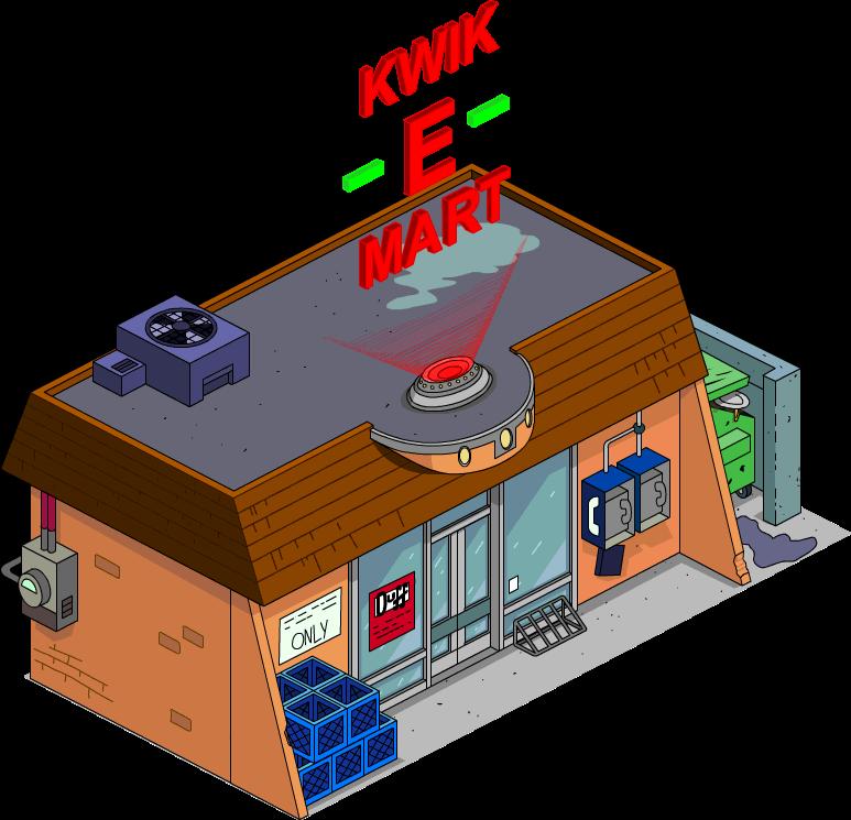Kwik-E-Mart ultramoderne