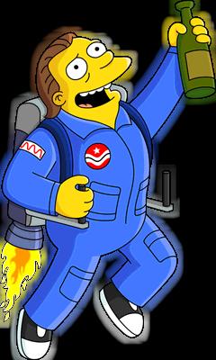 Barney Astronaute