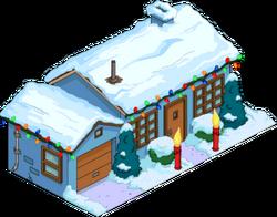 Maison bleue de Noël.png