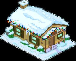 Maison marron de Noël.png