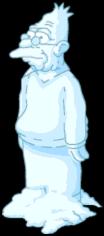 Grand-père de neige