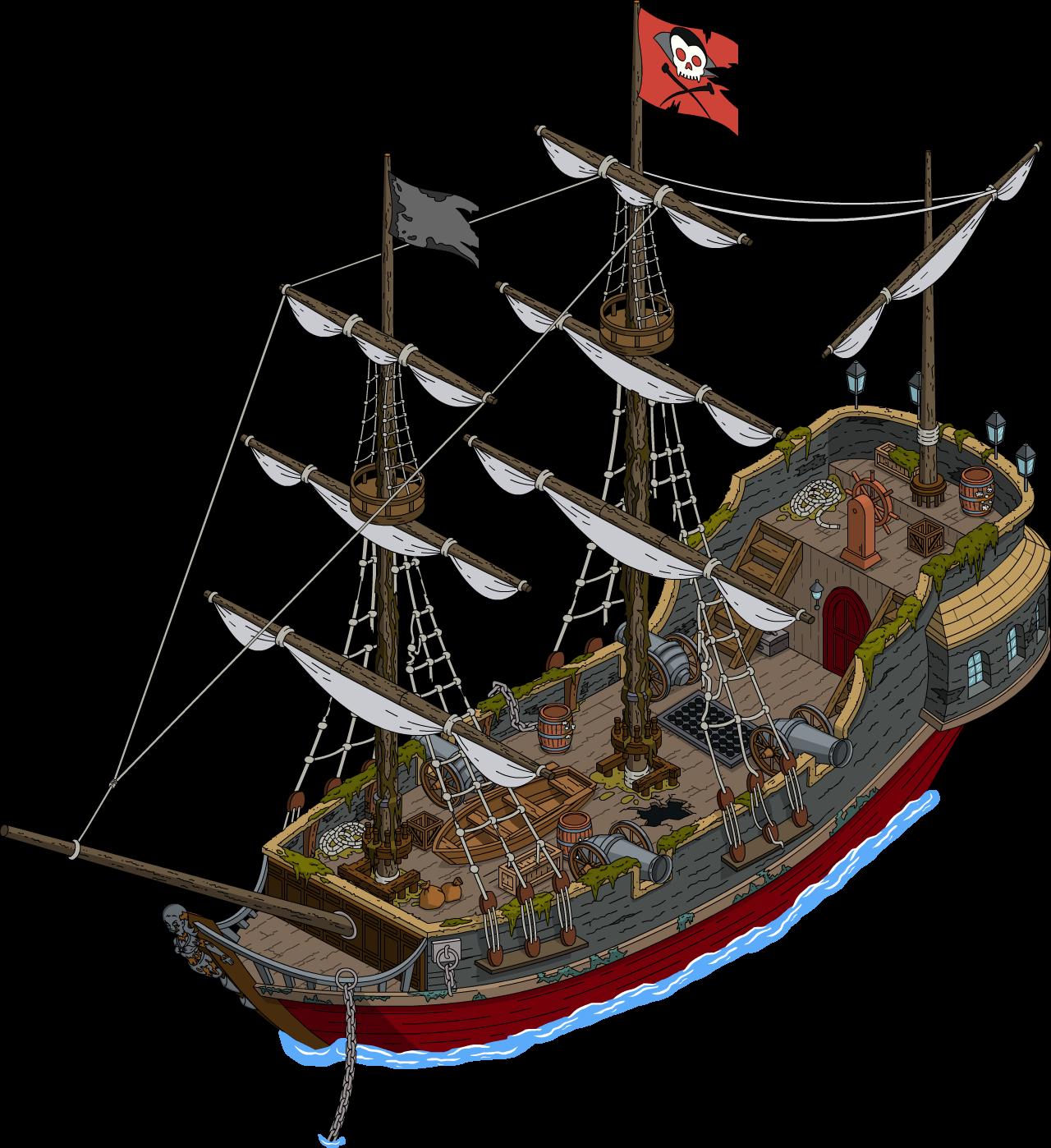 Navire maudit