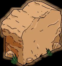 Paroi de la grotte