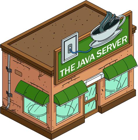 Cybercafé Java Server