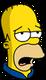 Homer Patriote Exténué