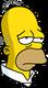 Homer Retraité Fatigué