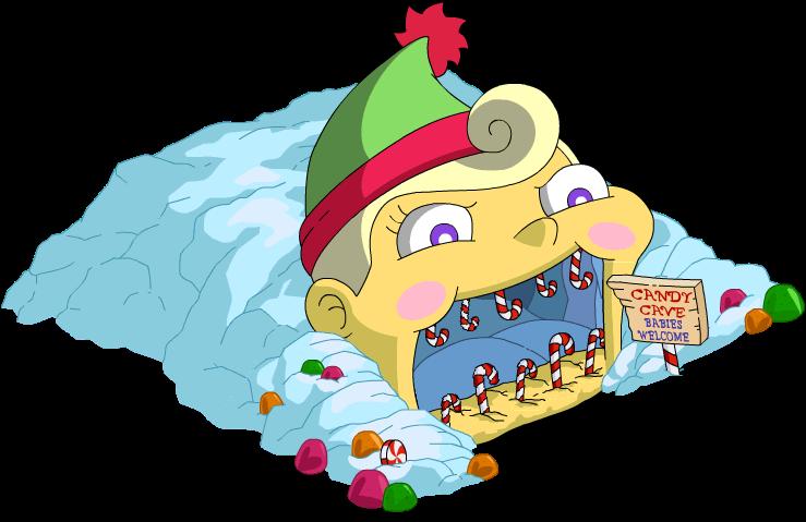 Grotte à bonbons maléfique