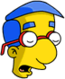 Milhouse Endormi
