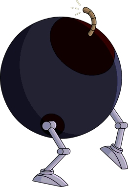 Bombe animatronique