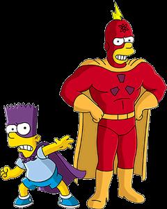 Bartman VS Radioactive Man