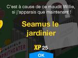 Seamus le jardinier