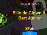 Bille de Clown & Bart Junior