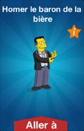 Homer le baron de la bière Icon Boutique'