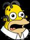 Homer Anime Surpris