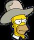 HomerCowboy Ennuyé