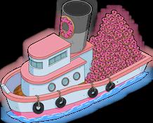 Bateau de donuts