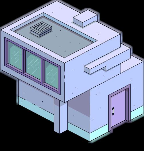 Bâtiment latéral moderne 2