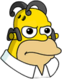 Homer Anime Ennuyé