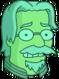 Matt Groening Plasmique Inquiet