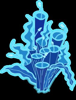 Fleurs luminescentes