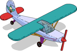 Avion de Krusty