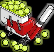 Machine lance-balles de tennis