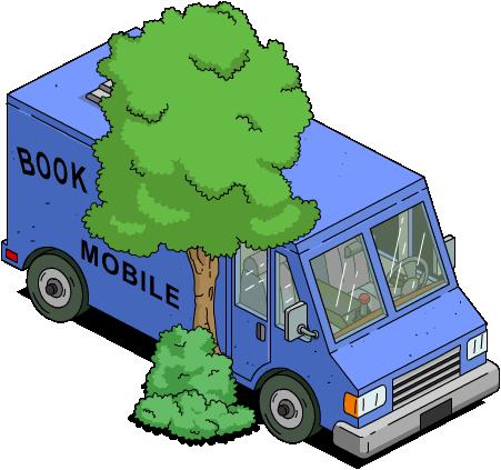 Biblio-brûle mobile