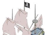Vaisseau pirate fantôme
