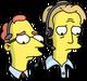Commentateurs de Baston de robots Triste