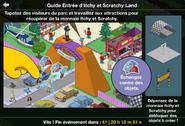 Guide Entrée d'Itchy et Scratchy Land
