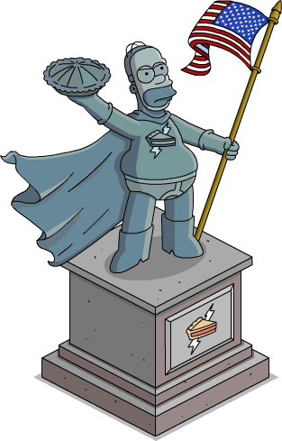 Statue épique Tarteman