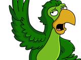 Perroquet blagueur