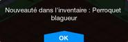 Perroquet blagueur Inv
