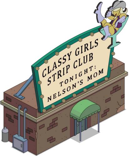 Club de strip-tease des Filles Chics